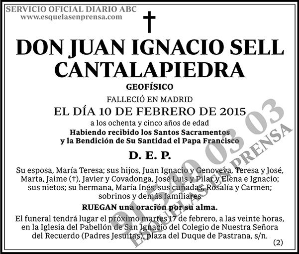 Juan Ignacio Sell Cantalapiedra